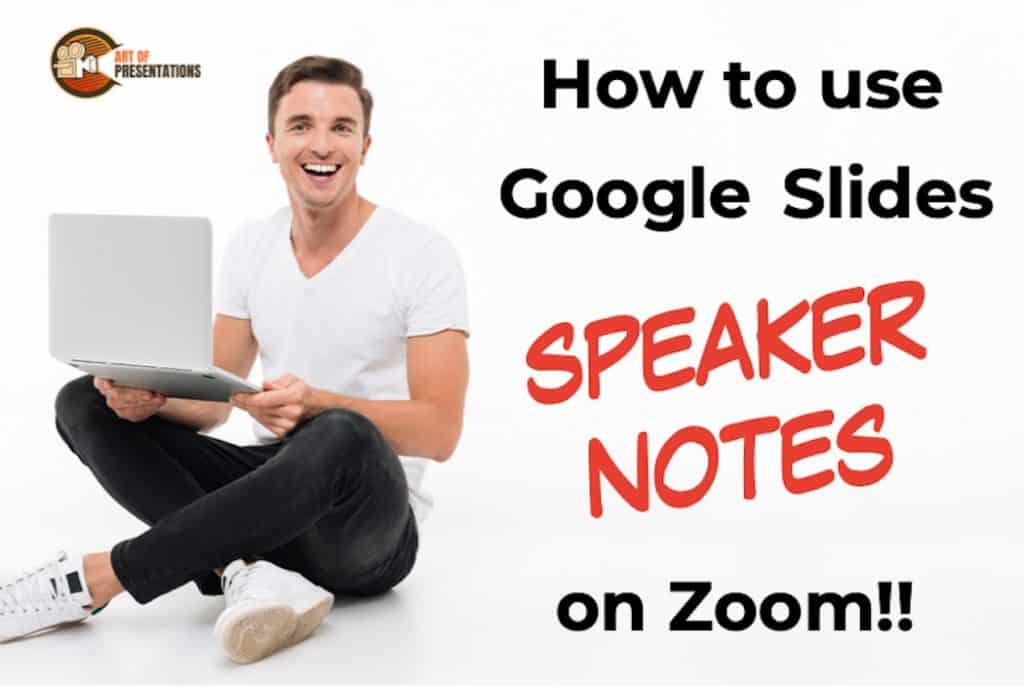 how to use google slides speaker notes on zoom