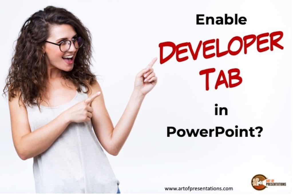 How to Add Developer Tab to the Ribbon in PowerPoint