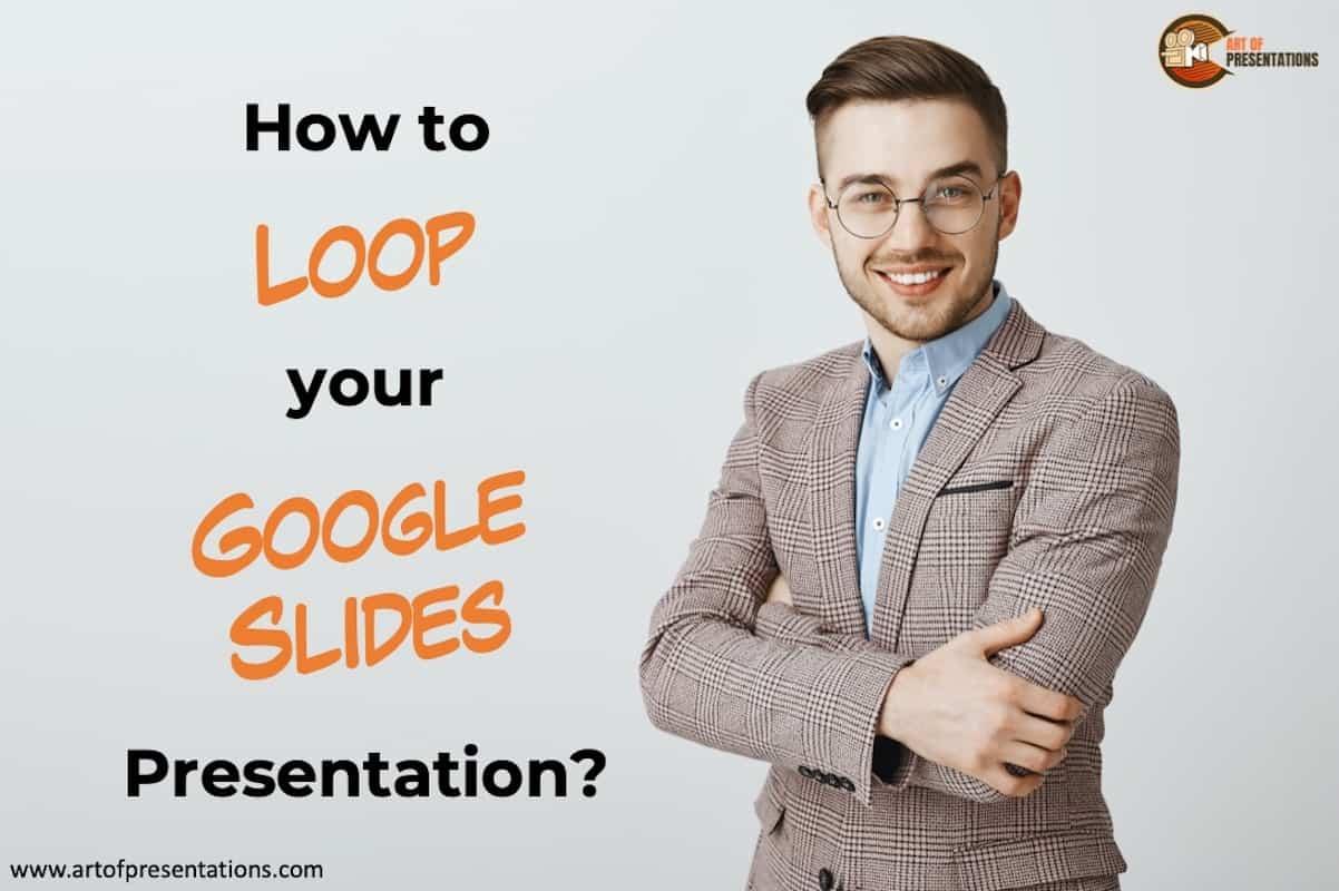 Auto advance slides in Google Slides