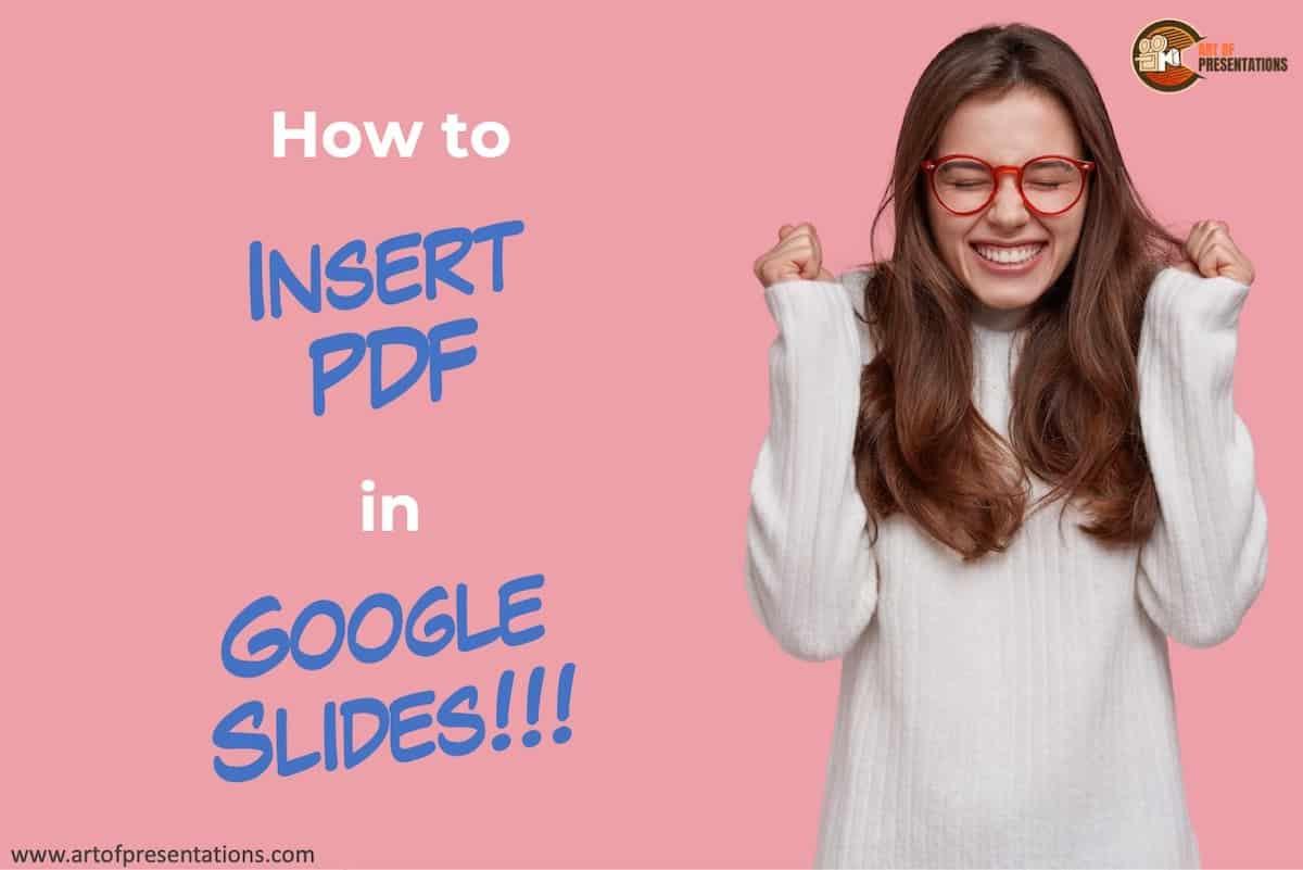 How to Insert PDF in Google Slides